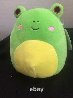 Squishmallow Wendy 8 Frog With Kinz Clip Super Rare Last Set Available