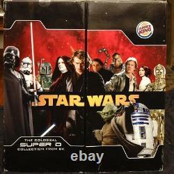 Star Wars 2005 Colossal Super D Collection Burger King Promo Box Set RARE