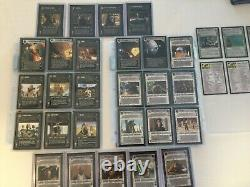 Star Wars CCG Collector's Complete Theed Palace Set, Includes Super Rare AIs