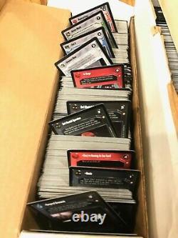 Star Wars Decipher Lot 3000+ Cards, 13 Sets, Foils, Rare, Super Rare, FOIL LUKE