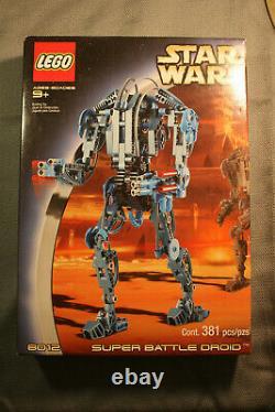 Star Wars Lego Super Battle Droid #8012 NIB Sealed VINTAGE RARE COLLECTABLE