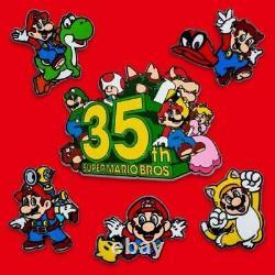 Super Mario Bros. 35th Anniversary PIN SET #2 Confirmed PRE-ORDER RARE