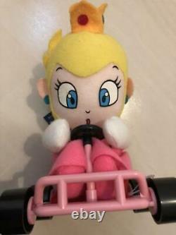 Super Mario Kart Plush doll Set Takara 1993 UFO Prize Nintendo RARE Japan