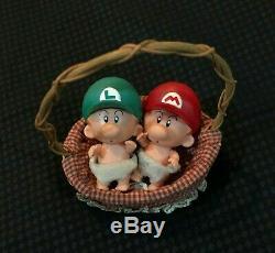 Super Mario NINTENDO YOSHI's Island Baby Mario Luigi Vintage Set JAPAN RARE