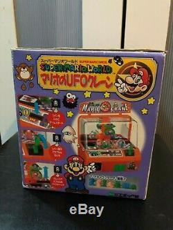 Super Mario World NINTENDO UFO Crane Set Vintage Rare