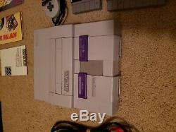 Super NES Super Game Boy Set Super Nintendo Console MATCHING SERIAL NUMBERS RARE