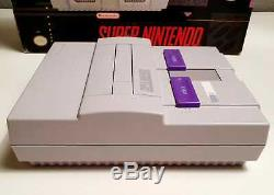 Super Nintendo Control Set USA NTSC Complete in box good condition CIB Rare