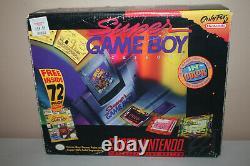 Super Nintendo Super Gameboy BIG BOX 100% Complete CIB Rare SNES Set! 1995