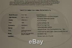 Super Nintendo Super Set SNES Console VGA 70 EX+ Qualified GRADED RARE