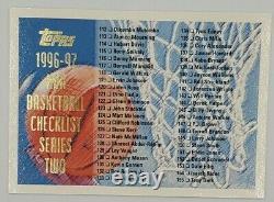 Super RARE 1996-97 Topps Kobe Bryant #138 BGS 9 & NBA Complete Set