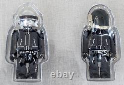 Super RARE! DAFT PUNK Kubrick 100% Set Figure Limited 3000 Medicom Toy JAPAN