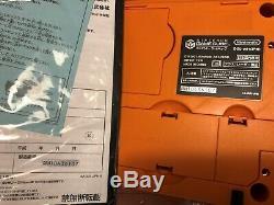 Super RARE! GameCube WAKU WAKU SET Spice Orange Emerald Blue Japan