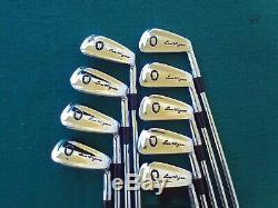 Super Rare Ben Hogan Apex II Iron Set 2-PW Mens RH Steel Golf Clubs New Grips RH