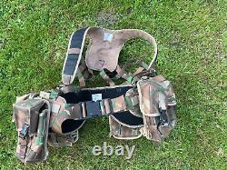 Super Rare British Army Afghan Trial PECOC Hybrid Camo MOLLE Webbing Set Used