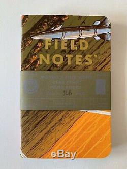 Super Rare Field Notes x Mondo Notebook Set