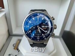 Super Rare IWC Aquatimer Cousteau Divers Tribute to Calypso Ltd Watch FULL SET