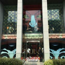 Super Rare Louis Vuitton Kansai Yamamoto daruma kabuki sticker set Japan Aoyama