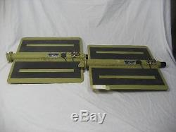 Super Rare NASA Flown! Set of 4 Forward Reaction Control System Radiant Panels