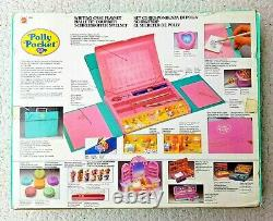 Super Rare Polly Pocket Writing Case Set! 1990! (doll) Brand New Never Removed