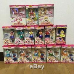 Super Rare! Sailor Moon Mini Collection Doll in Box Set of 14 UNUSED Vintage