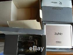 Super Rare Seiko Sumo Silver Limited Edition Full Set SPB029J1 little used