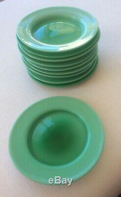 Super Rare Set Of 10 CARLO MORETTI Mid-century Modern Italian Glass Plates