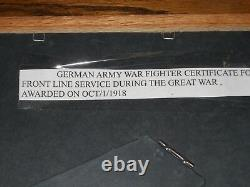 Super Rare Set Of 4 Same Named Certificates & Medals Ww 1 & 2 Great Collection