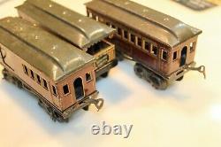 Super Rare Set Of Bing 0-gauge Us-market Rochelle Canada Pacific Railways