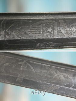 Super Rare Set of Civil War 1843 Swords United States of America & Confederate