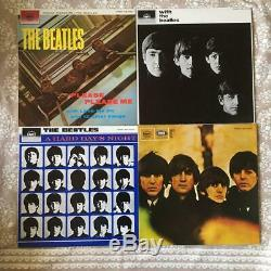 Super Rare THE BEATLES COLLECTION BOX SET 14 LP from Japan Free Shipping Used