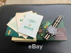 Super Rare Vintage 1971 Rolex 1680 Red Submariner Mark IV 4 Watch in FULL SET