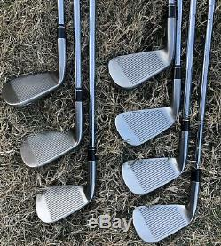 Super rare Callaway Stenson Smoke dark satin finish LEGACY BLACK Iron Set 4-PW