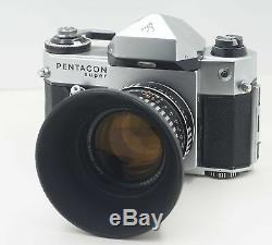 Super rare Pentacon super + Pancolar 55 1.4 & 75 1.4 set