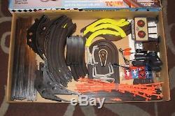 TOMY AFX Thunder Loop Thriller Super G+ Toyota HO Slot Car Race Set 9118 RARE