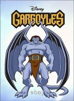 TOPPS DISNEY COLLECT GARGOYLES MOTION SOUND GARGOYLE SET WithAWARD SUPER RARE