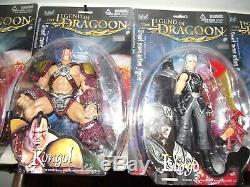 The Legend of Dragoon PS1 PSX Figure Set (COMPLETE! ALL 6 IN BOX!) SUPER RARE