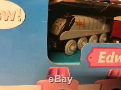 Thomas Train Wooden Railway Edward The Great Set New In Box Super Rare
