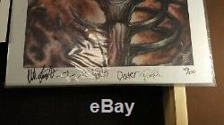USEDThe Offspring collection box set smash lp. Signed art, Super rare