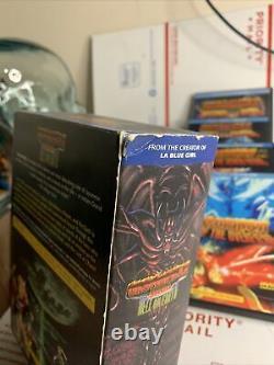 Urotsukidoji Saga Hell On Earth Box Set 4 DVD super Rare Rare
