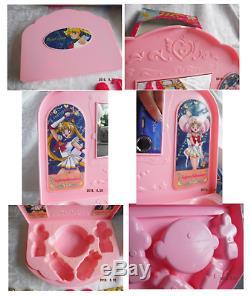 VINTAGE ANIME ` SAILOR MOON Super S Moon Cosme make-up Set Desk Rare