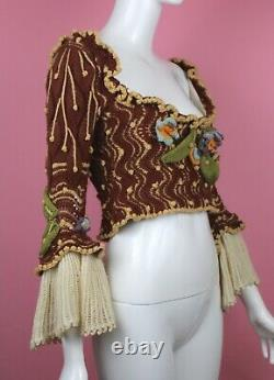 VIVIENNE WESTWOOD RARE Corset and Sock Set AW1995, On Liberty, Size M, VINTAGE