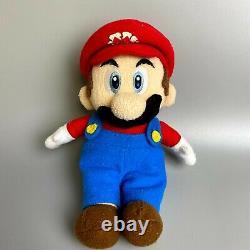 Very Rare 2003 Super Mario Party 5 set of 4 Nintendo Sanei Hudson Soft Plush