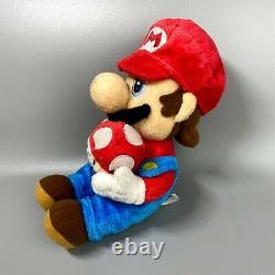 Very Rare 2007 Super Mario Galaxy 3 body set Sanei Nintendo 9 Plush doll japan