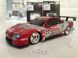 Very Rare Kyosho MINI-Z Racer SUPER GT R34 Body&MR-03 Chassis set from Japan