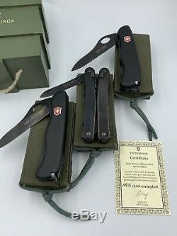Victorinox military set super rare limited edition V-LTD02 N. 185/199