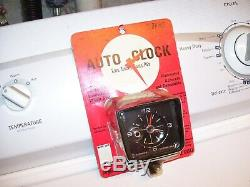 Vintage 1960's nos mint sealed auto dash gauge service clock gm street rat rod