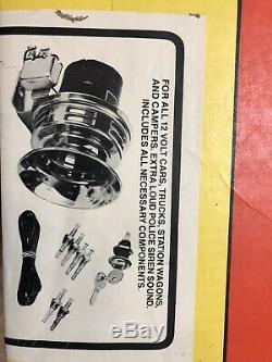 Vintage 1970's auto alarm, Parade/Police Siren street rod, rat rod, hot rod