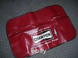 Vintage 70s nos Champion Sparkplugs auto fender part service gm show accessory