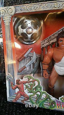 Vintage Hercules Saga of Hercules Figure Set 9 K/O 1996 MiSB Super Rare