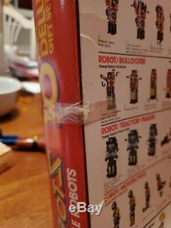 Vintage REMCO Zybots 10 Piece Deluxe Gift Set MiSB Super Rare Transformers KO 84
